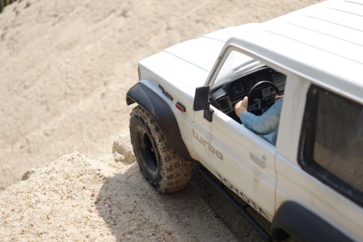 Sandkastenspiele mit dem Toyota LJ70 - 4