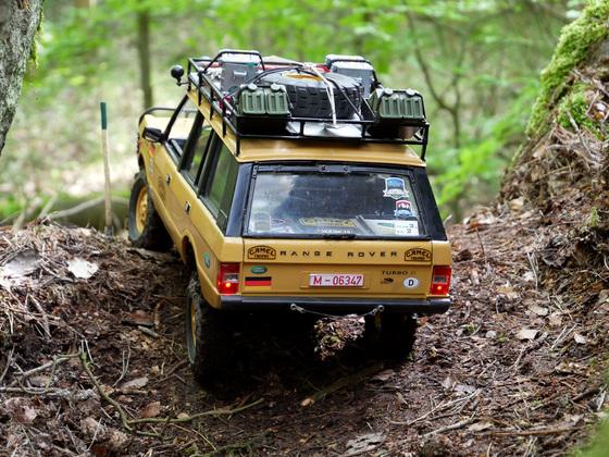 Range Rover Classic bei der EST2019