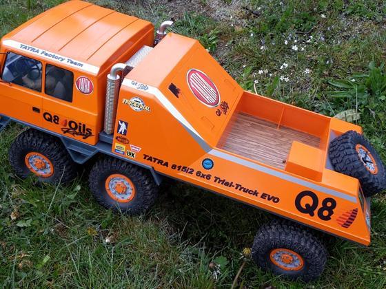 Trial-Truck  Tatra 815 6x6  SCX10 Achsen ohne Durchtrieb