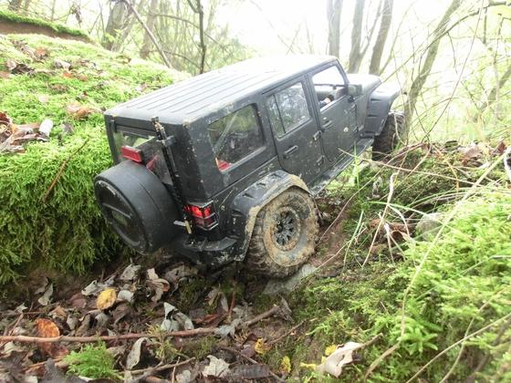 Jeep JK 4 door im Steinbruch bei Eichenbühl