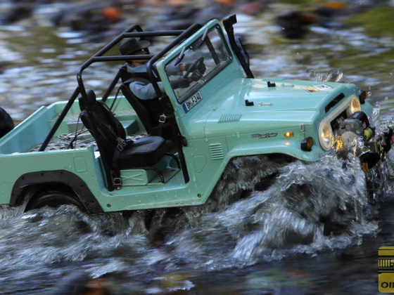 RC4WD Gelände 2 Toyota Landcruiser  in action