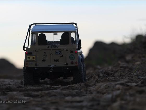 Dämmerung im Outback