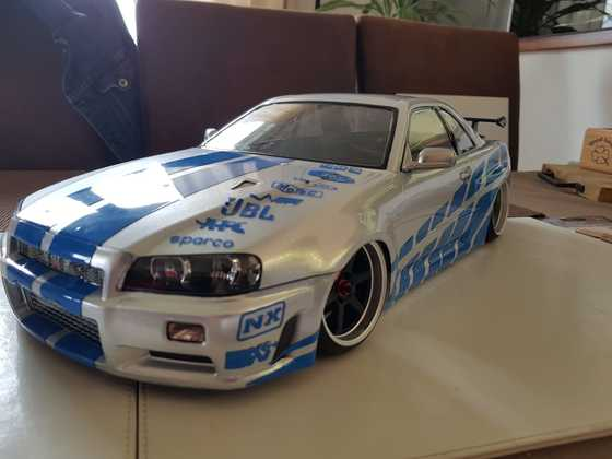 Paul Walker Skyline mit 19 Zoll