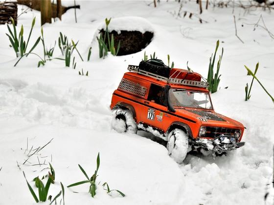 Schneeorange