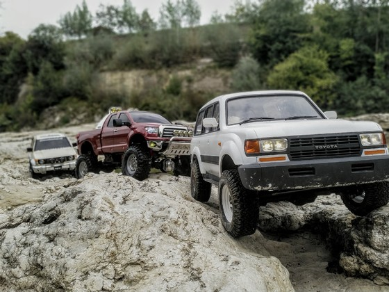 Axial SCX 10 2 Toyota LC 80