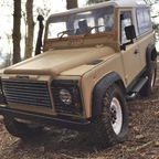 Land Lover Defender D 90   ( in Arbeit )