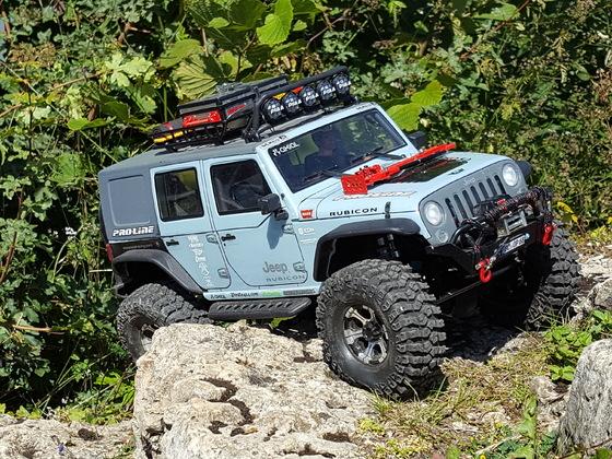SCX10 Jeep Wrangler