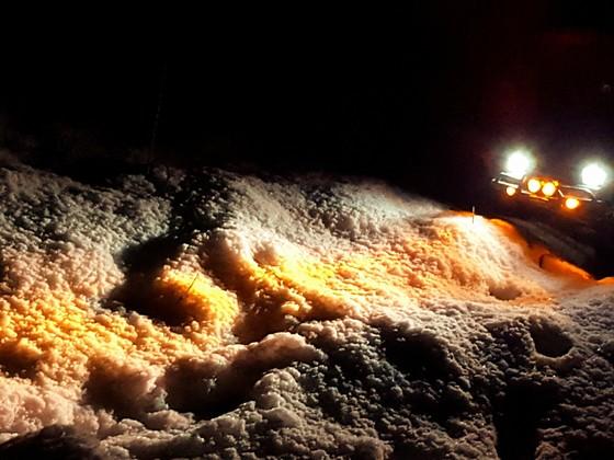 Gox Hilux im Schnee