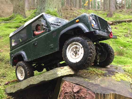 RC4WD Defender D90