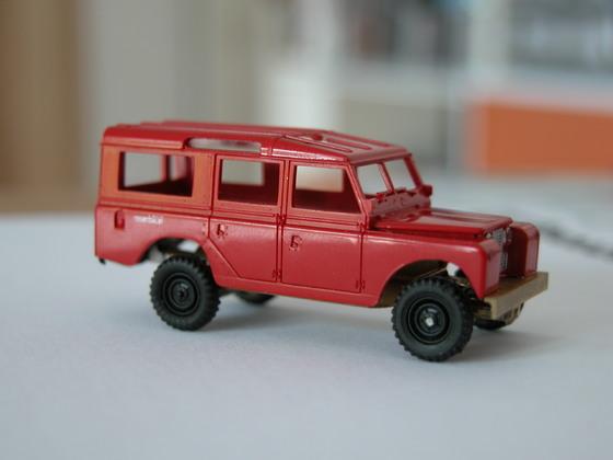 Land Rover 109, Rohbau