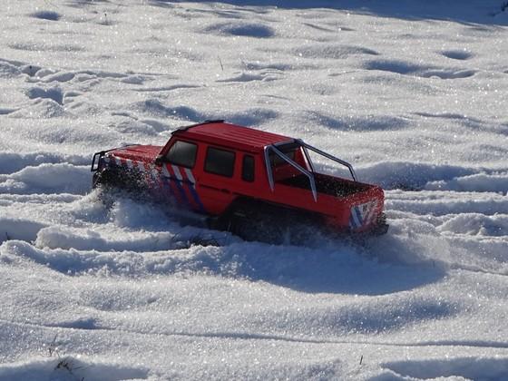 Kürzlich im Schnee...