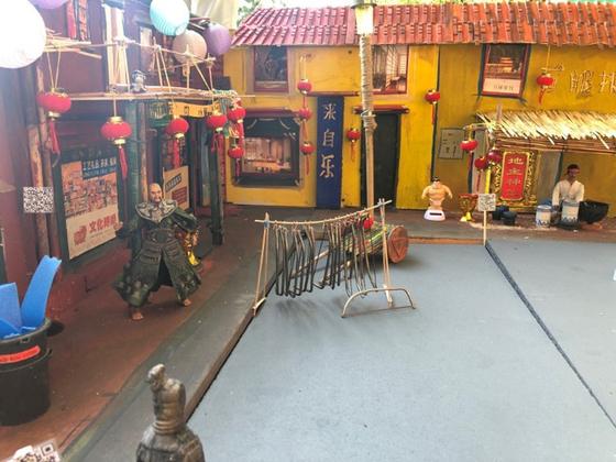 SHERPA 2019 Kulisse - die chinesische Stadt  - An Phang
