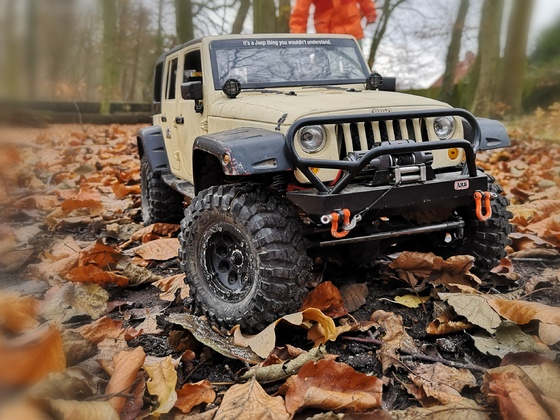 Scx 10 New Bright Jeep Body
