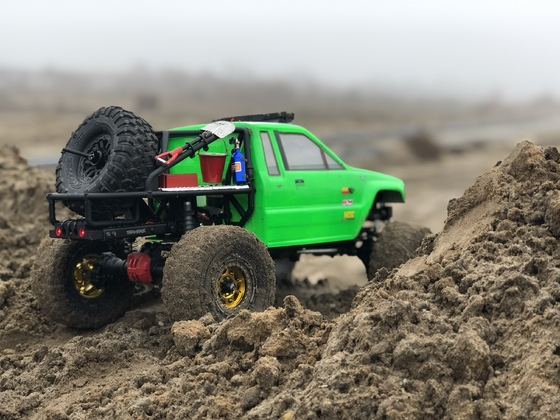 Hilux Truggy auf TRX-4 Chassis