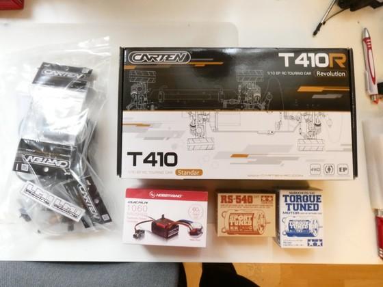 T410 Rallye Umbau