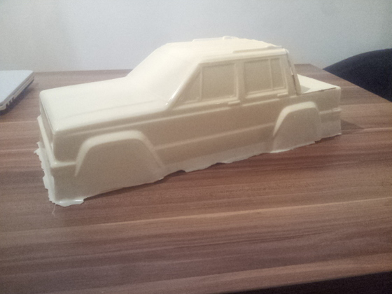 Jeep Cherokee Resin Guss