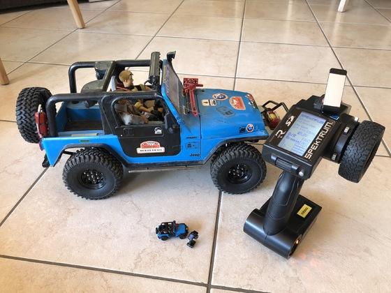 Jeep Wrangler TJ - Großer und kleiner Bruder