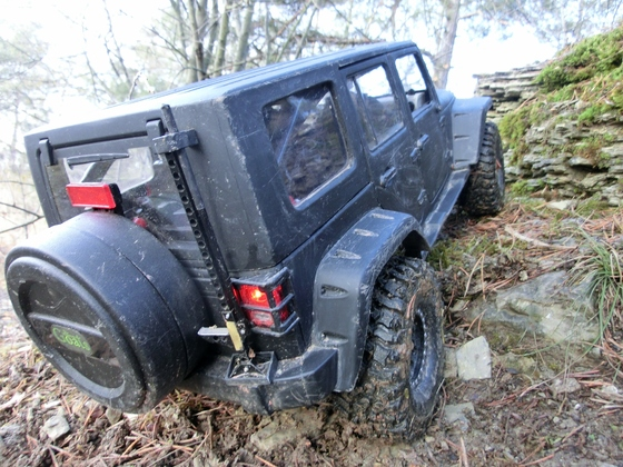 Jeep JK 4 Door in Hammelburg