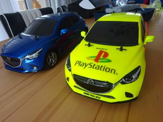 Tamiya M05 und M05 Vers.II R (Mazda2)