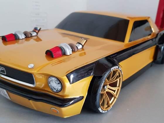 68ér Mustang W I D E Body Kit by Scale-Rocker-Customs