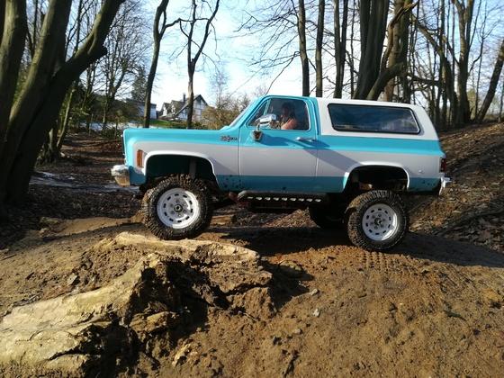Reifengrößen und Performancetest am Chevy