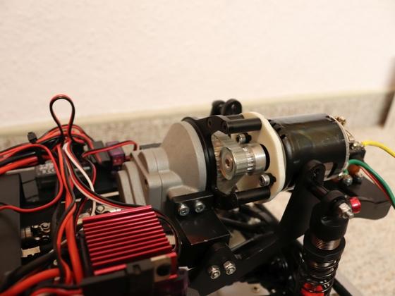 Modelex DAB - R3-Singlespeed Getriebe Umbau auf Zahnriemen (Mechaplus)