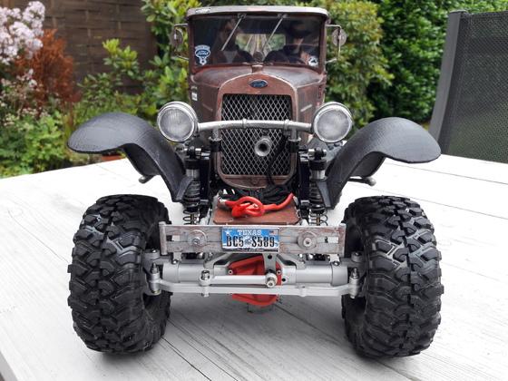 Ford A Wrecker 1932 - Fertig zum Crawlen