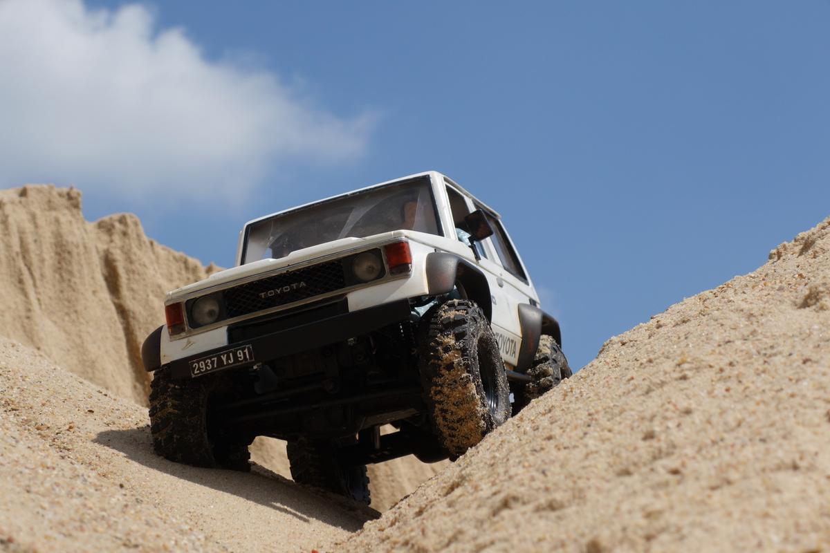 Sandkastenspiele mit dem Toyota LJ70 - 2