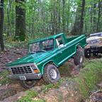 3. Versuch Eigenbau Holzbody Ford F100 (1978)