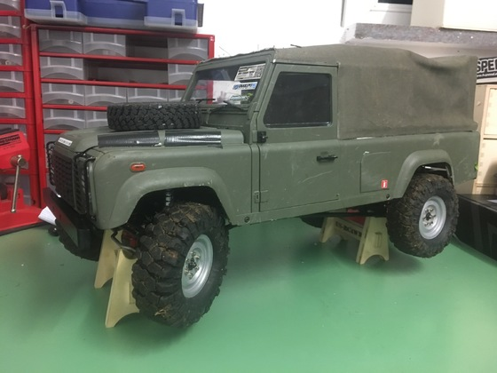 Defender Army d110 boomracing Chassis