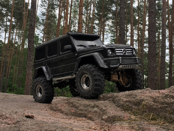 TRX-4 Mercedes G500