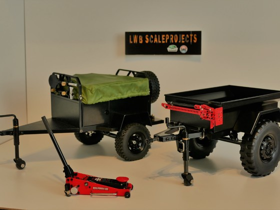 LWB ScaleProjects Tent Trailer + M416 b2