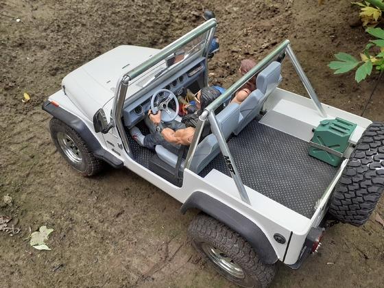 Jeep YJ oben ohne