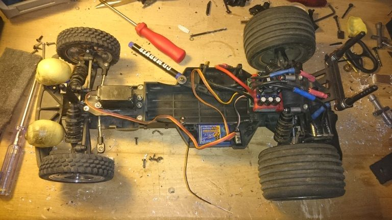 Hot Rod Auf Graupner Chassis Sonstige Rc Cars Rockcrawlerde