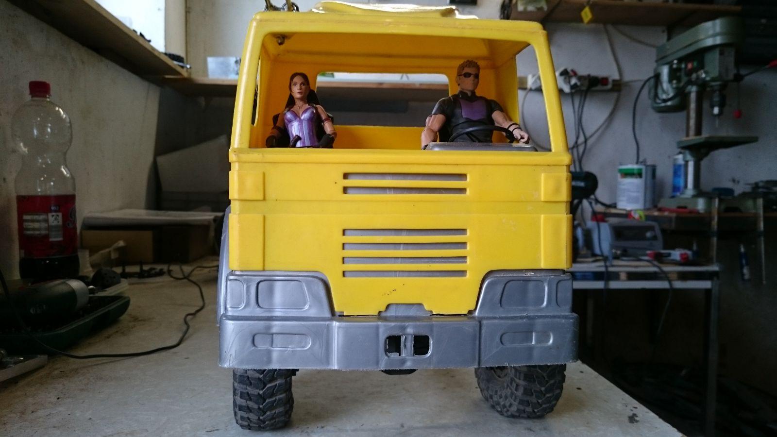 6x6 LKW Projekt - mein erster Eigenbau - Mehrachser & Offroad LKW ...