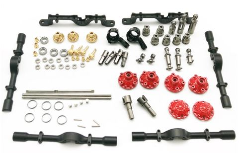 Upgrade-Teile Silber Metall-Antriebswelle Für WPL Heng Long 1//16 RC Rock